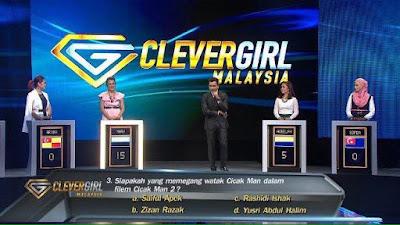 Rancangan Clever Girl TV3