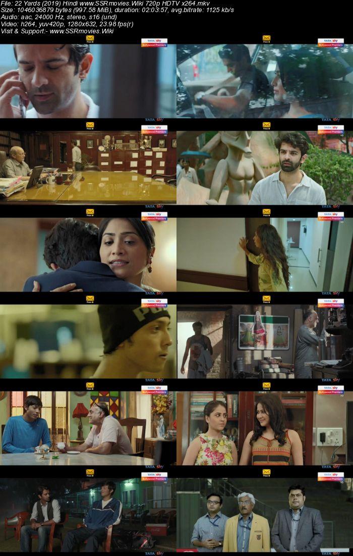 22 Yards (2019) Hindi 720p HDTV x264 950MB Movie Download