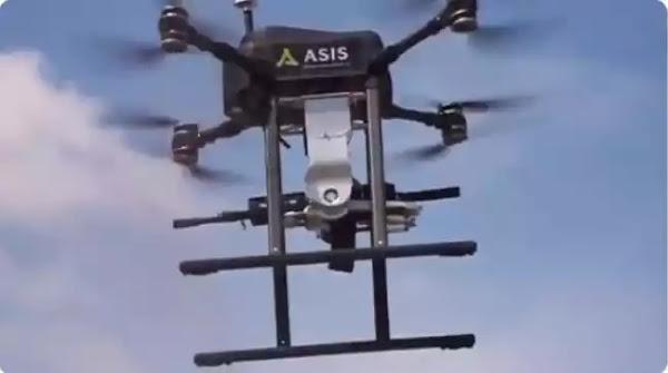Οι Τούρκοι κατασκέυασαν το πρώτο drone εξοπλισμένο με πολυβόλο (βίντεο)
