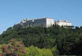 The rebuilt Abbey of Monte Cassino