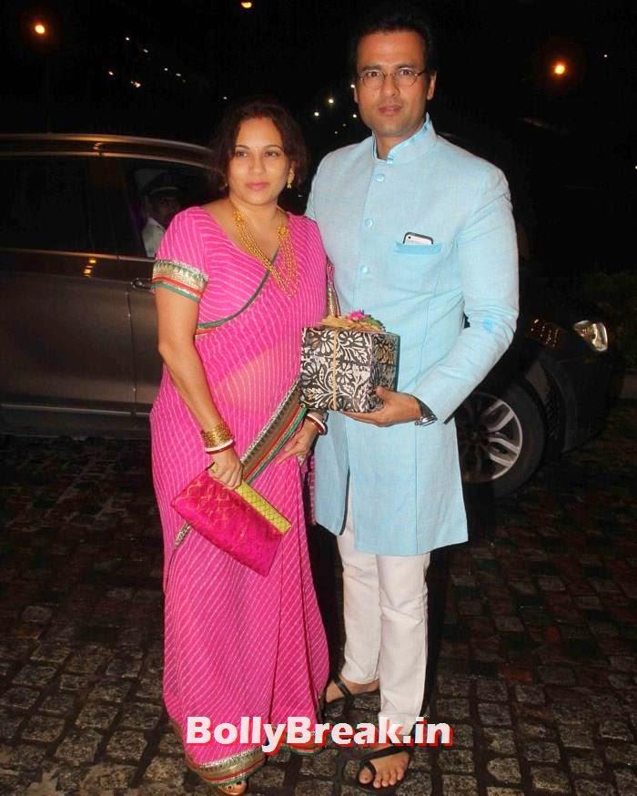 Mansi Joshi Roy, Rohit Roy, Nikitin Dheer, Kratika Sengar Wedding Pics