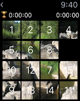15 Puzzle Apple Watch Game