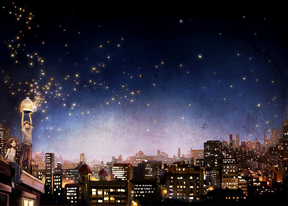 Animasi Background Firefly | Fauzan's Blog