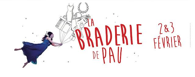 la Braderie Hiver 2018 de Pau