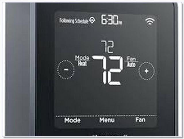 Honeywell wifi thermostat rth6580wf setup