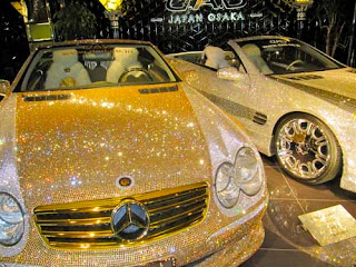 Are You Making Any Money Greeting Osaka Japan Golden Car