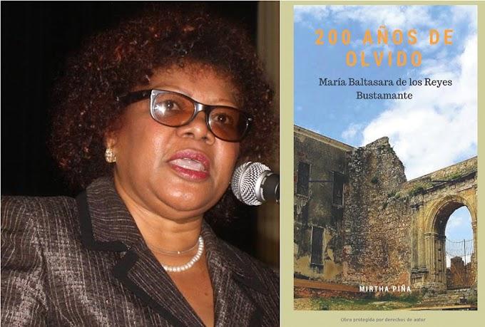 """Pondrán en circulación en NY este jueves 29  la novela """"200 Años de Olvido""""  de la periodista Mirtha Piña"""