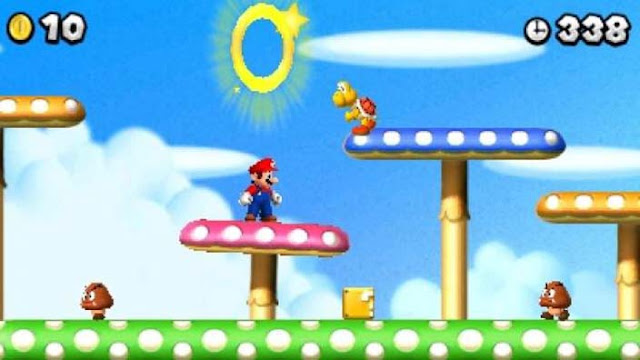 New Super Mario Bros. 2 Gold Edition screenshot 1