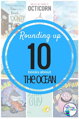 A roundup post featuring 10 children's books about the ocean.