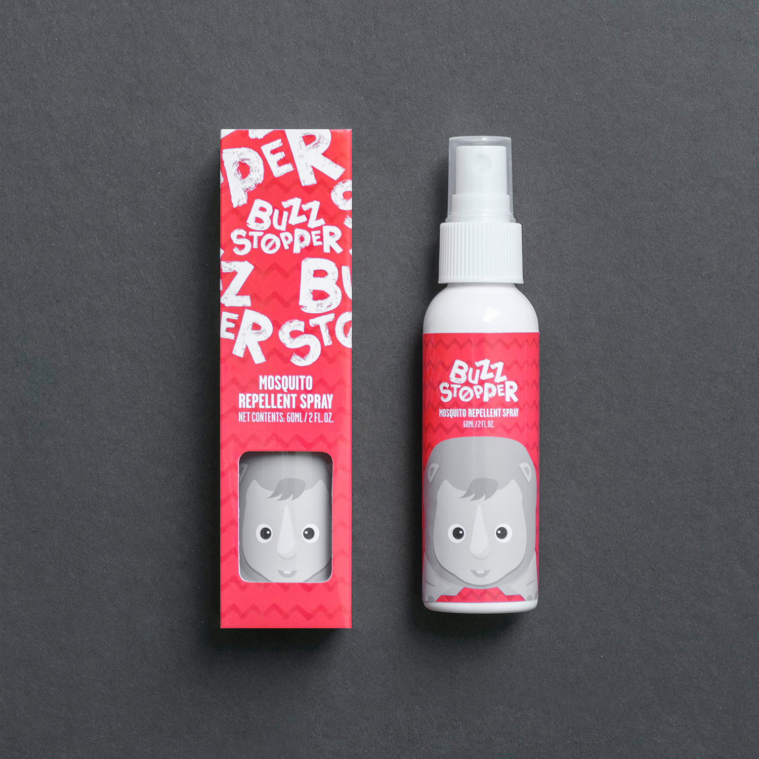 BuzzStopper on Packaging of the World - Creative Package Design Gallery