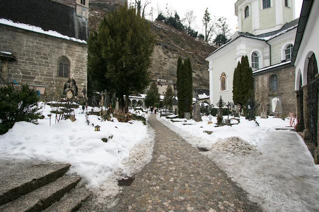 Stiftskirche Sankt Peter e Petersfriedhof-Salisburgo
