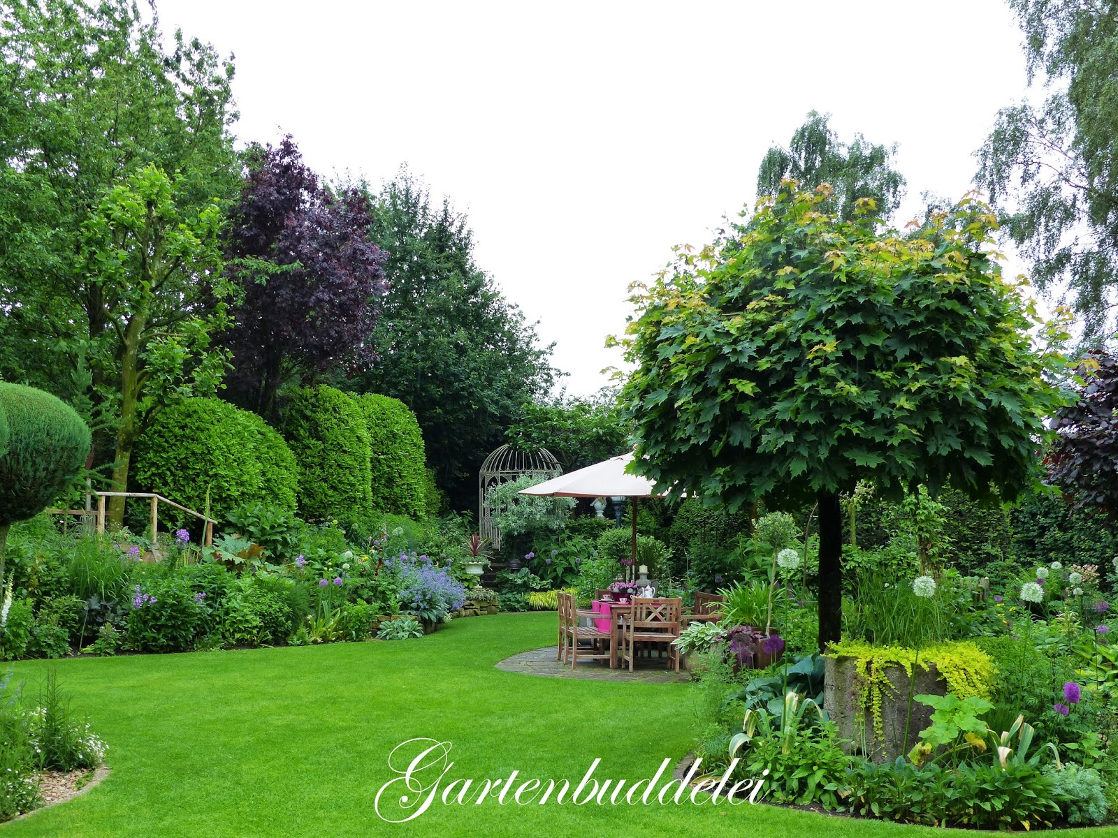 Gartenbuddelei 10jähriges Jubiläum Im Garten Picker