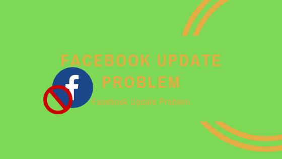 Facebook Update Problem