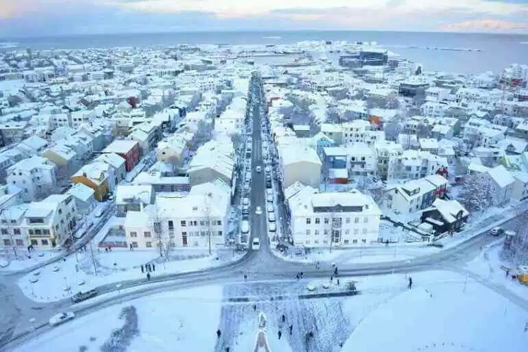 Iceland coldest country