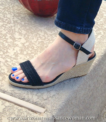 Lucky Brand Katereena Wedge Sandal (3) - Trunk Club Review - April 2016