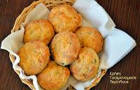 Ψωμάκια με γραβιέρα και θυμάρι - by https://syntages-faghtwn.blogspot.gr