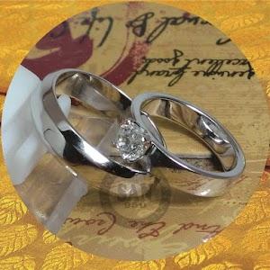 cincin emasputih perak p5710