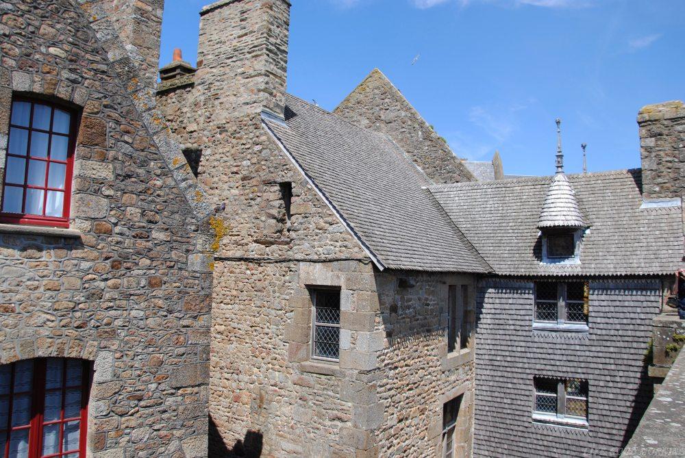 Mont Saint Michel - mistyczny klasztor między Normandią a Bretanią.