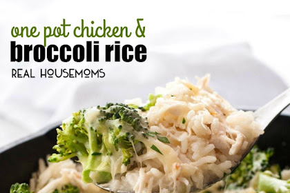 ONE POT CHICKEN AND BROCCOLI RICE
