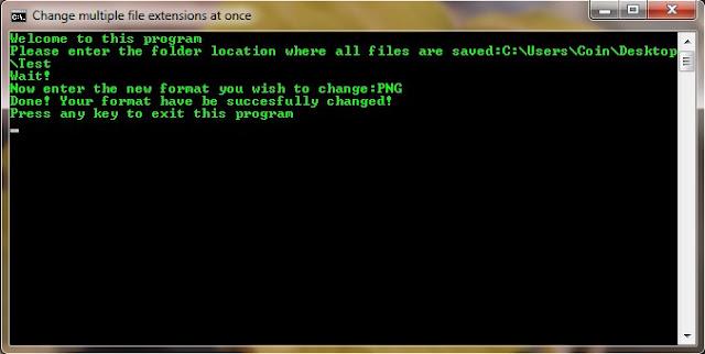 Execute Batch Program