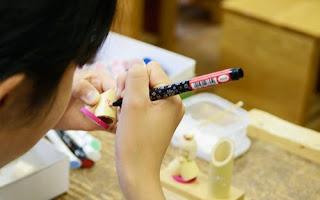 越前竹人形の里 製作体験