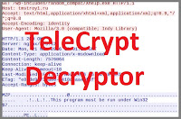 Расшифровка .Xcri зашифрованных TeleCrypt
