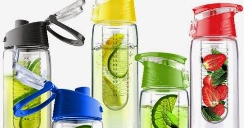 Cara Sehat dengan Mengganti Minuman Ringan Dengan Air Infus