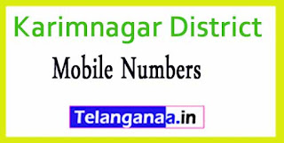 Bejjanki Mandal Sarpanch Upa-Sarpanch Mobile Numbers List Karimnagar District in Telangana State