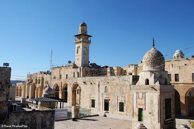 Mont du temple, esplanade des mosquées