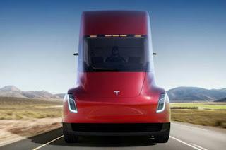 Electric truck Tesla