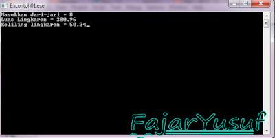 Borland C++ : Fungsi