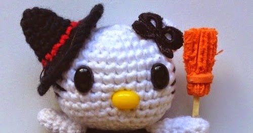 Tutorial amigurumi Hello Kitty - Escoba (mod-1) - YouTube | 263x500