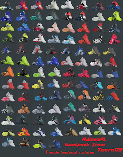 PES 2019 Boots Pack From T09 Updated 15.02 By AdioszPL