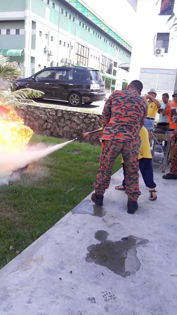 cara padamkan api di rumah