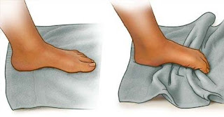 Corrective Exercise for arch of foot