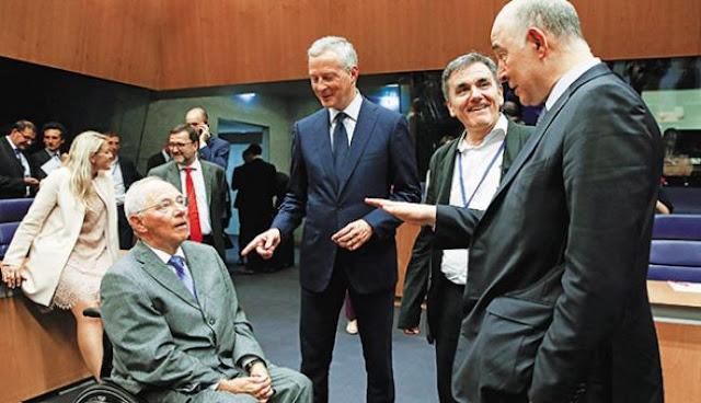 Ο Σόιμπλε επαναφέρει το φάντασμα του γερμανικού Ράιχ στην Ευρώπη
