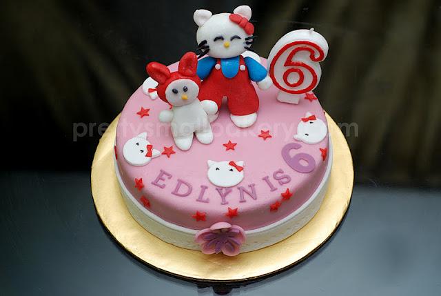 Kek Birthday Hello Kitty Hello Kitty Birthday Cake