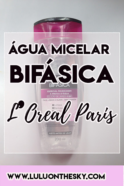Água Micelar Bifásica L´Oreal Paris