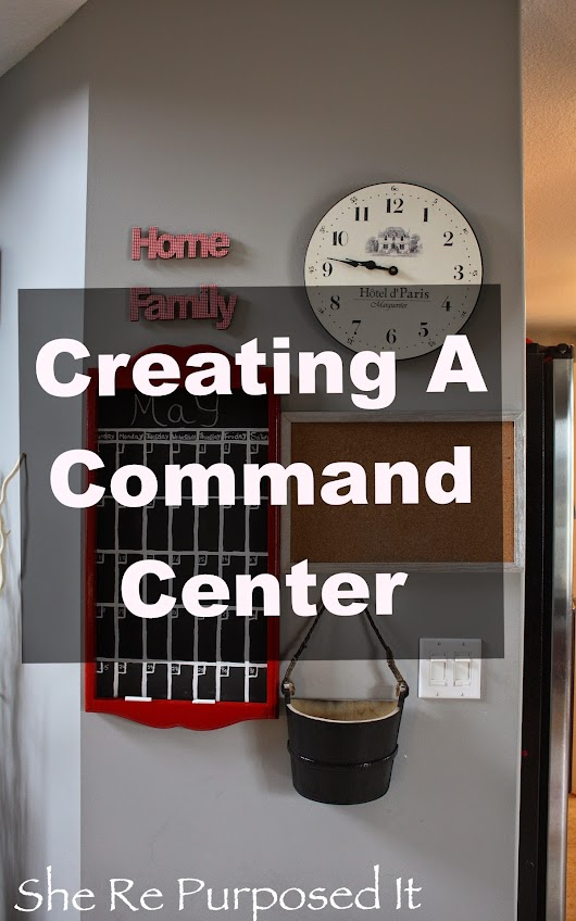 Creating a Command Center