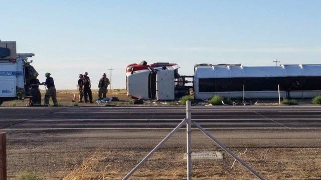 state route 46 and 33 kern county accident big rig fuel truck david blanchet jose martinez lost hills