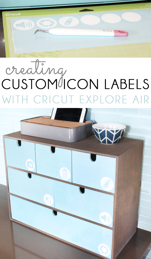 Cricut Custom Cut Icon Labels From JPEGs
