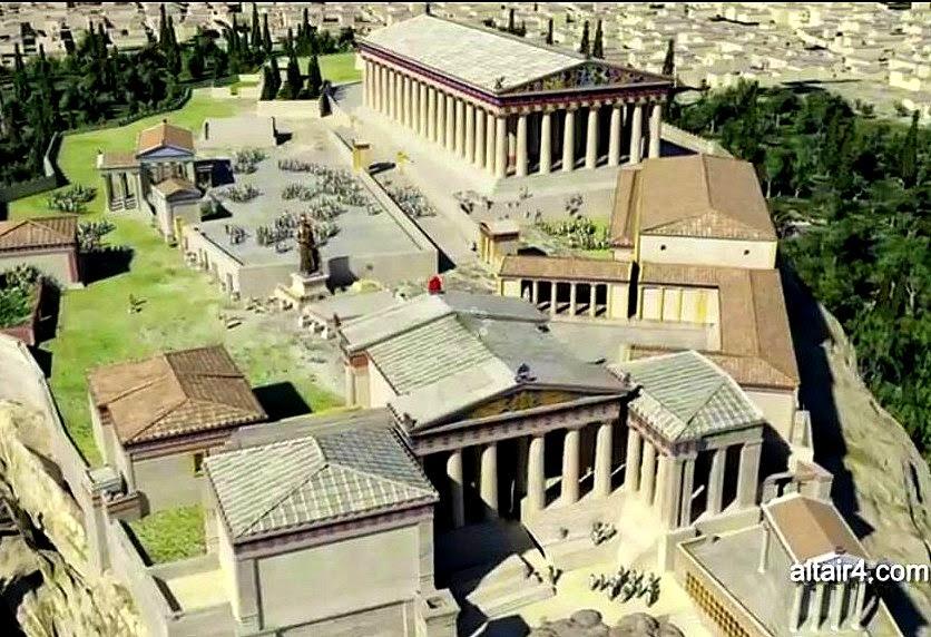 Resultado de imagen de acropolis de atenas