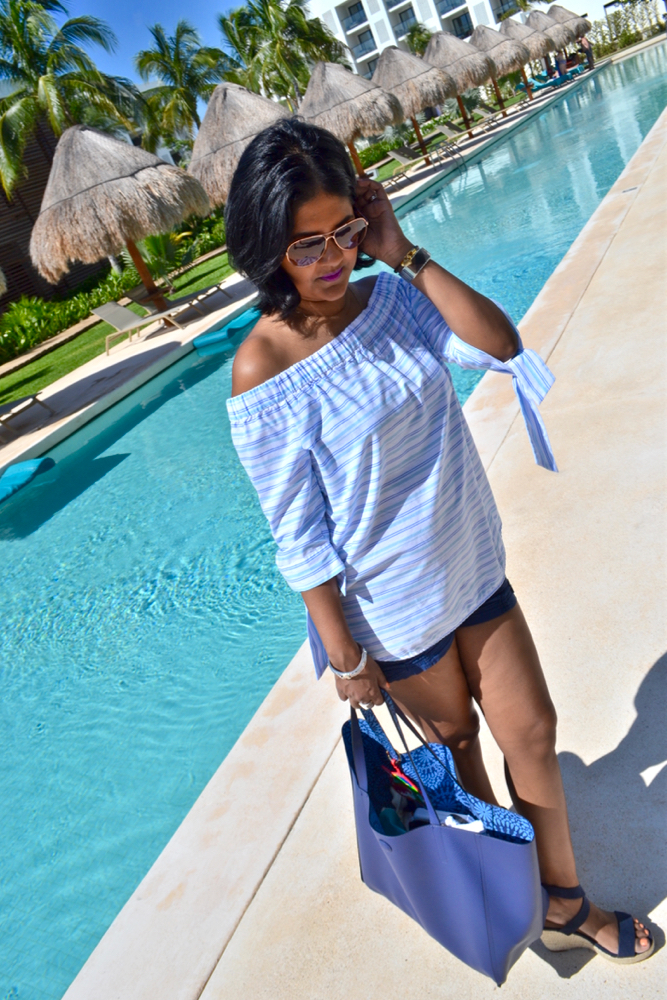 Finest Playa Mujeres Cancun vacation with baby
