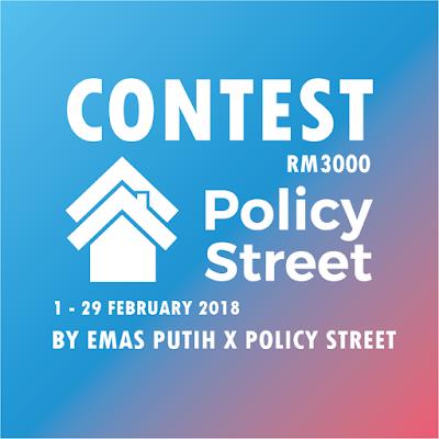 CONTEST EMAS PUTIH DAN POLICYSTREET.COM : CONTEST COPY PASTE RM3100 DIMENANGI