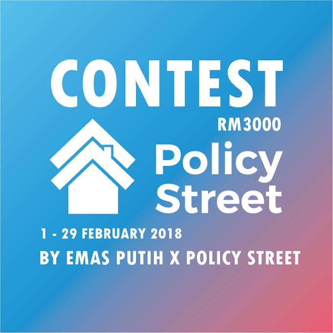 PolicyStreet Menawarkan Insurans Terbaik di Malaysia Serendah RM5/Sebulan
