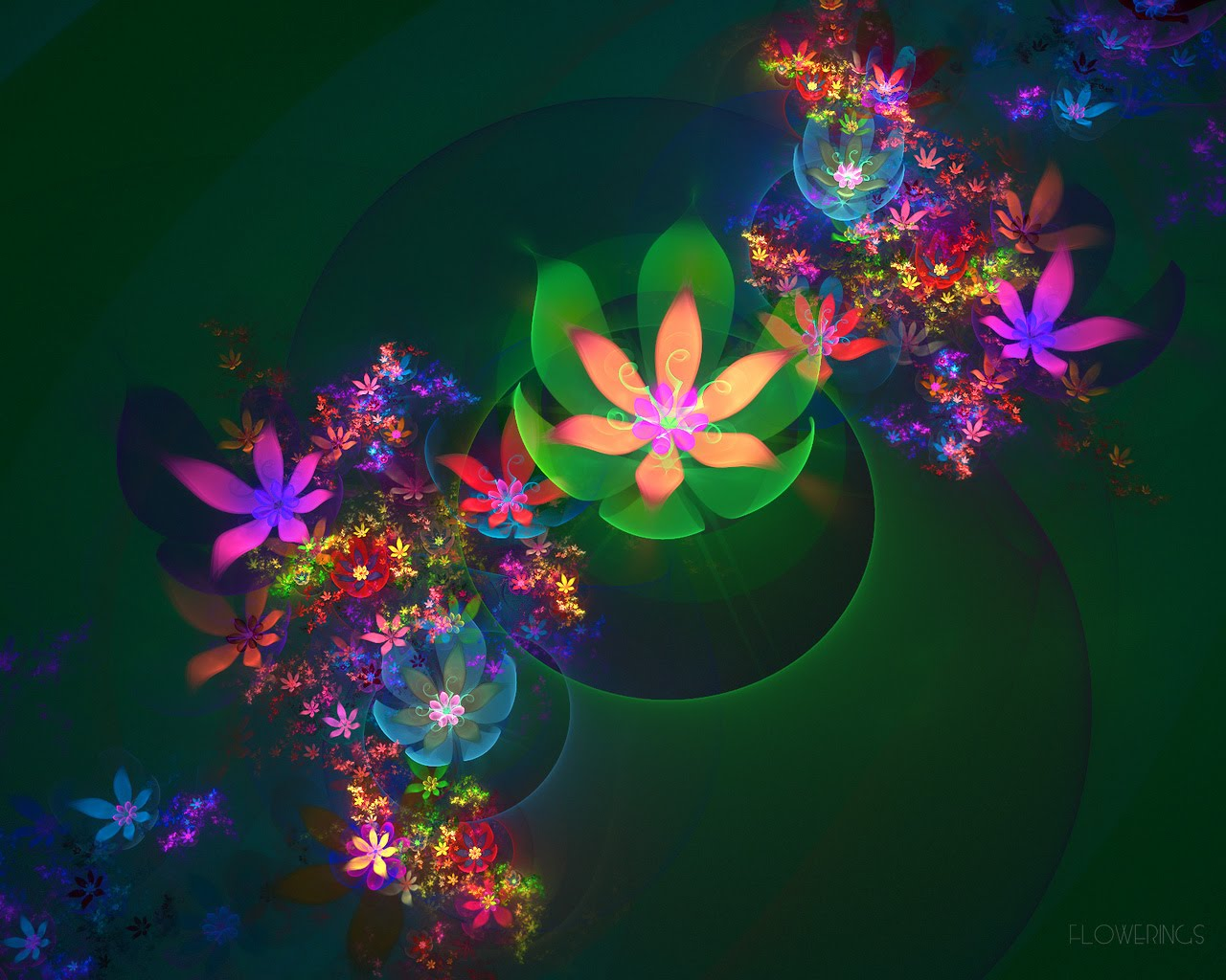 3D flower wallpapers for the nature lovers. ~ blog for everyone