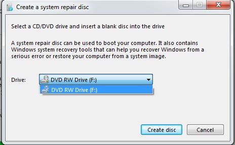 Cara Mudah Membuat Disc Repair Sistem Untuk Windows