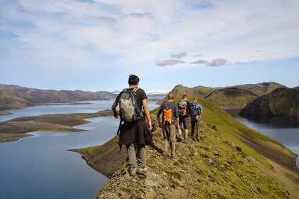Hiking In Iceland In June