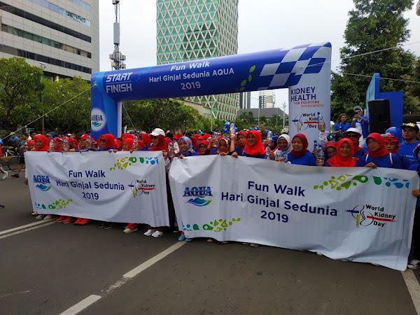 Peringatan Hari Ginjal Sedunia 2019 Bersama Danone Aqua, Sadari Hidrasi Sehat Untuk Ginjal Sehat