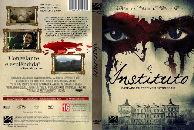 Capa DVD O Instituto [Exclusiva]